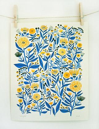 Marigold Print