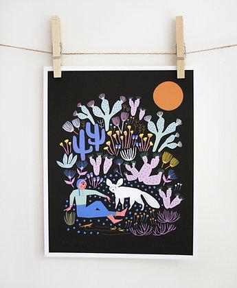 Fox Tamer Print