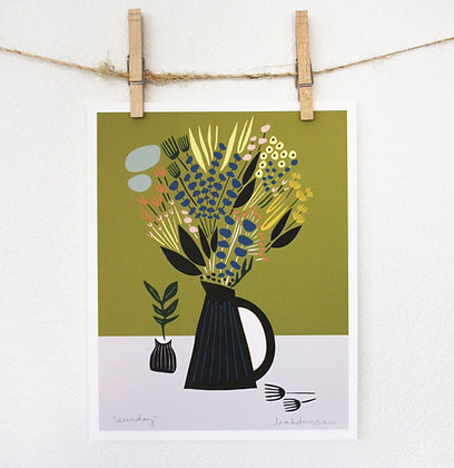 Sunday Still Life Print