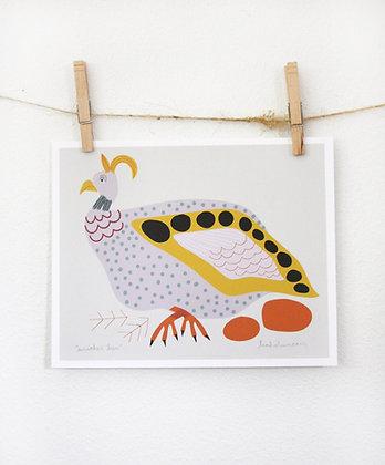 Mother Hen Print
