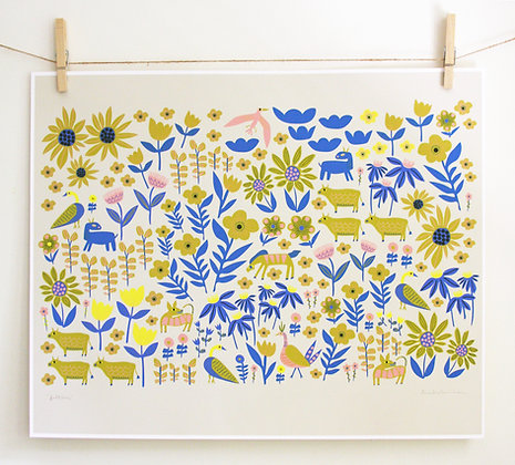 Folklore Blue Print