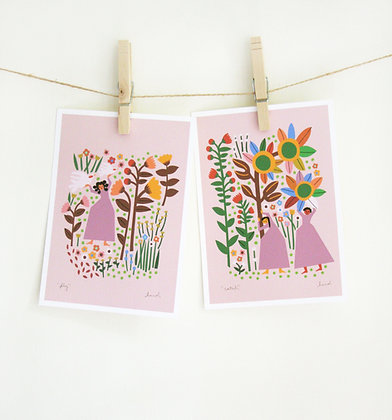Mother Nature Print Set - Fly and Catch