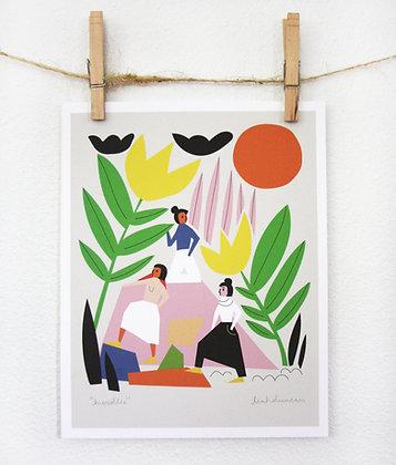 Hurdles Print