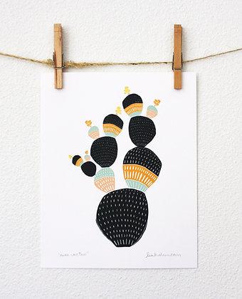 Wee Cactus Print