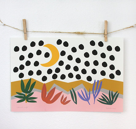 Abstract Marfa Print