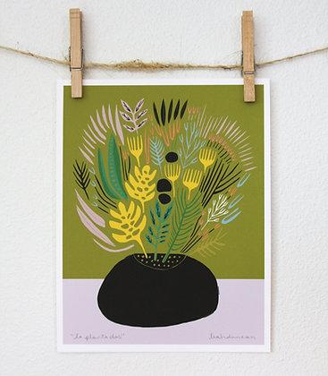 La Planta Dos Print