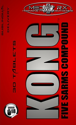KONG- 5 Sarms Blend