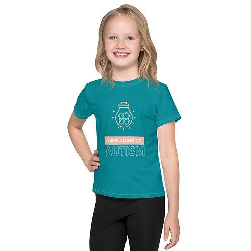 Shine a Light on Autism Kids T-Shirt