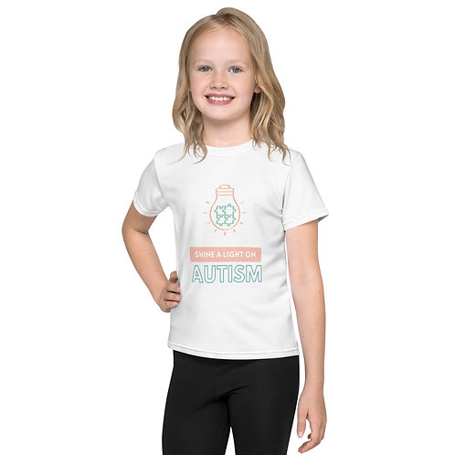 Shine a Light on Autism Kids T-Shirt