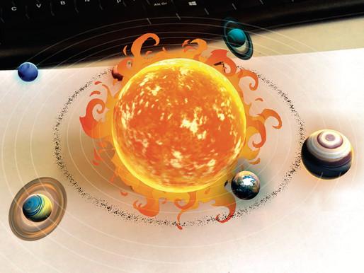 Das Sonnensystem fürs Klassenzimmer