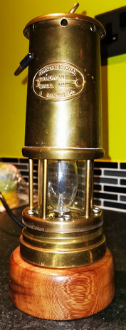 Electrified Coal miners lamp