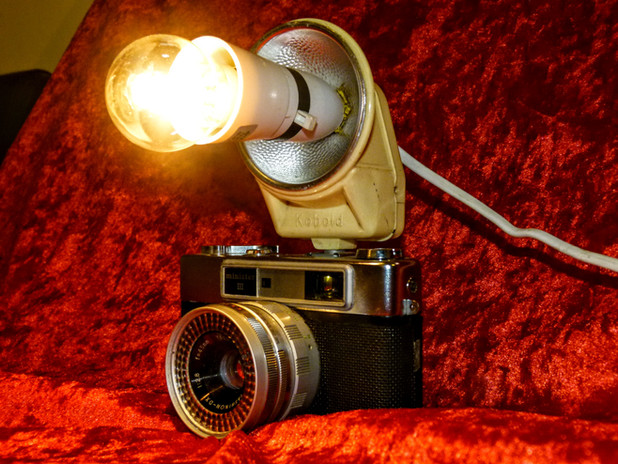 Classic Camera Lamp