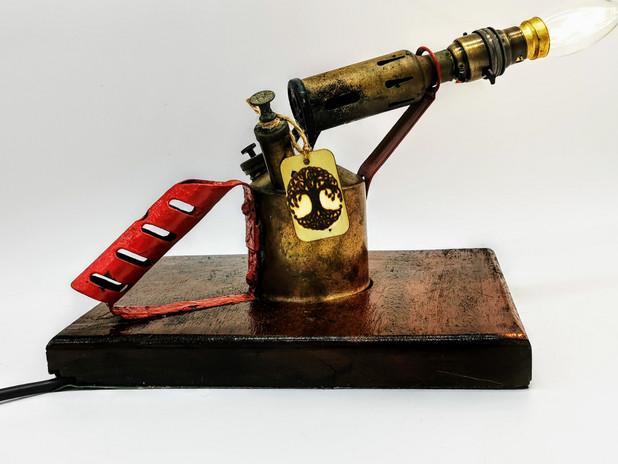 Revamped Gas lamp