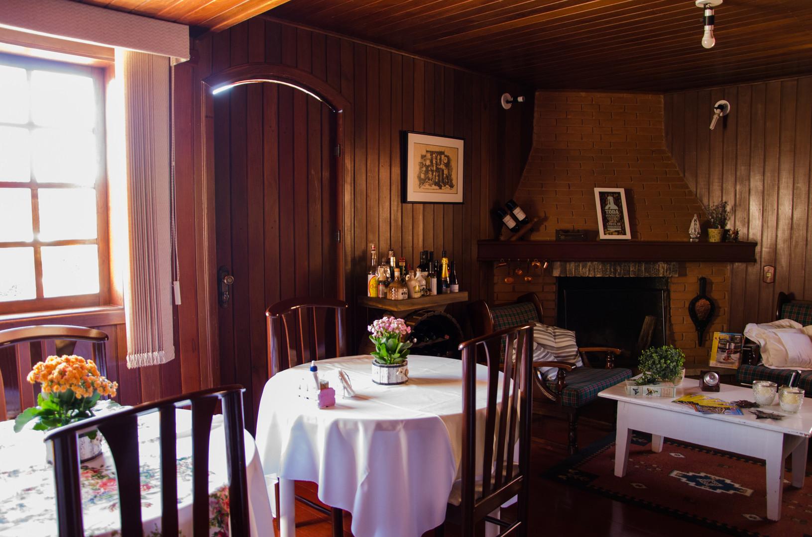 Sala de Estar e Salão Café