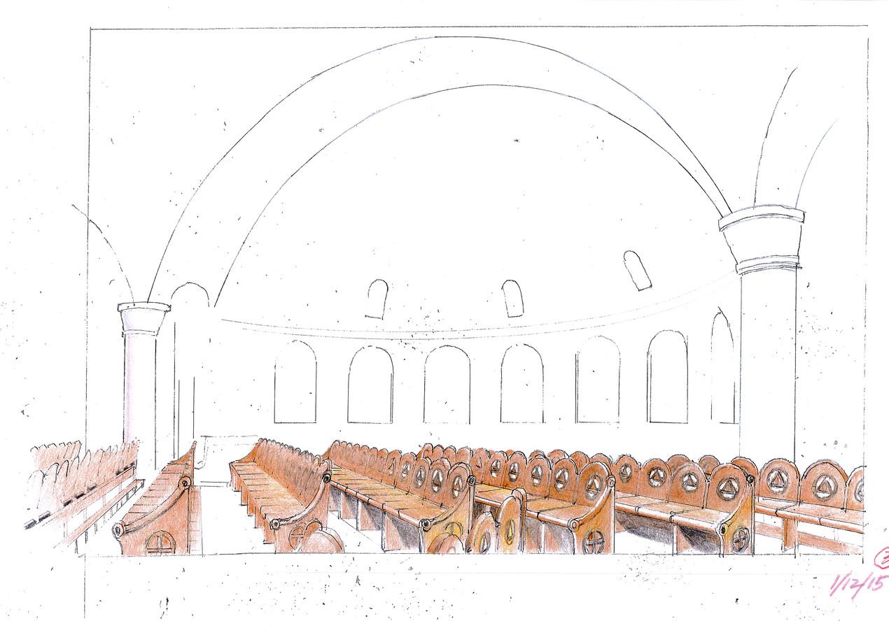 CJK Seating Design Sketch