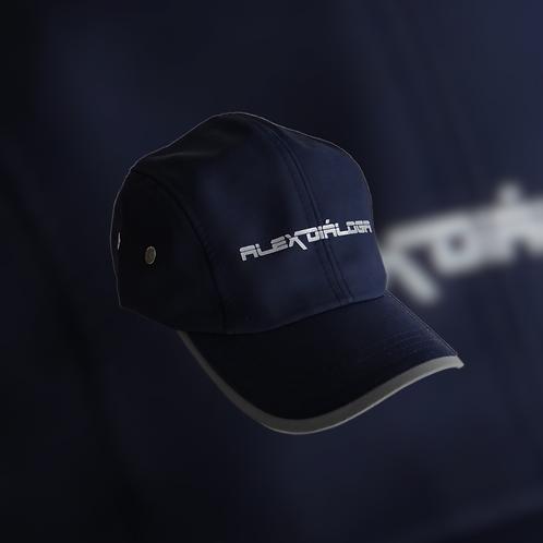 Gorra logotipo reflejante color azul