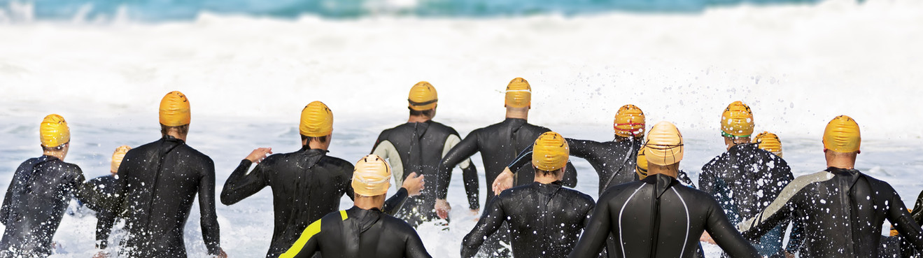 Triatholon natation