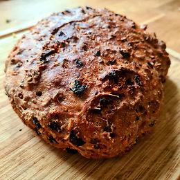 Pyszny chleb z żurawiną