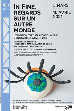 Affiche expo In Fine, Regards sur un autre monde