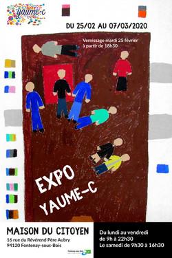 Affiche expo Maison du Citoyen 2020