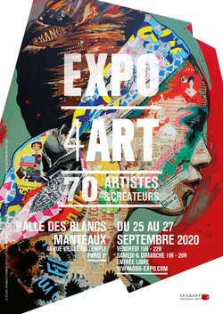 Affiche EXPO4ART septembre 2020