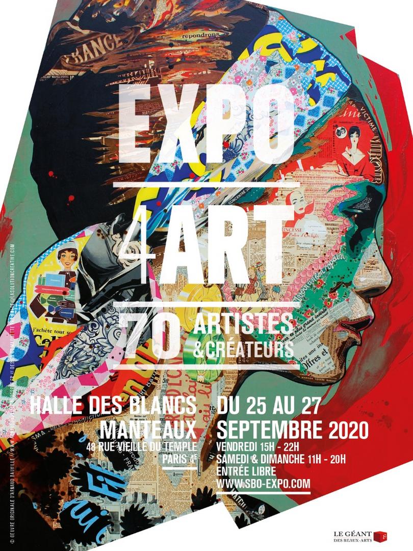 Affiche EXPO4ART sept.2020
