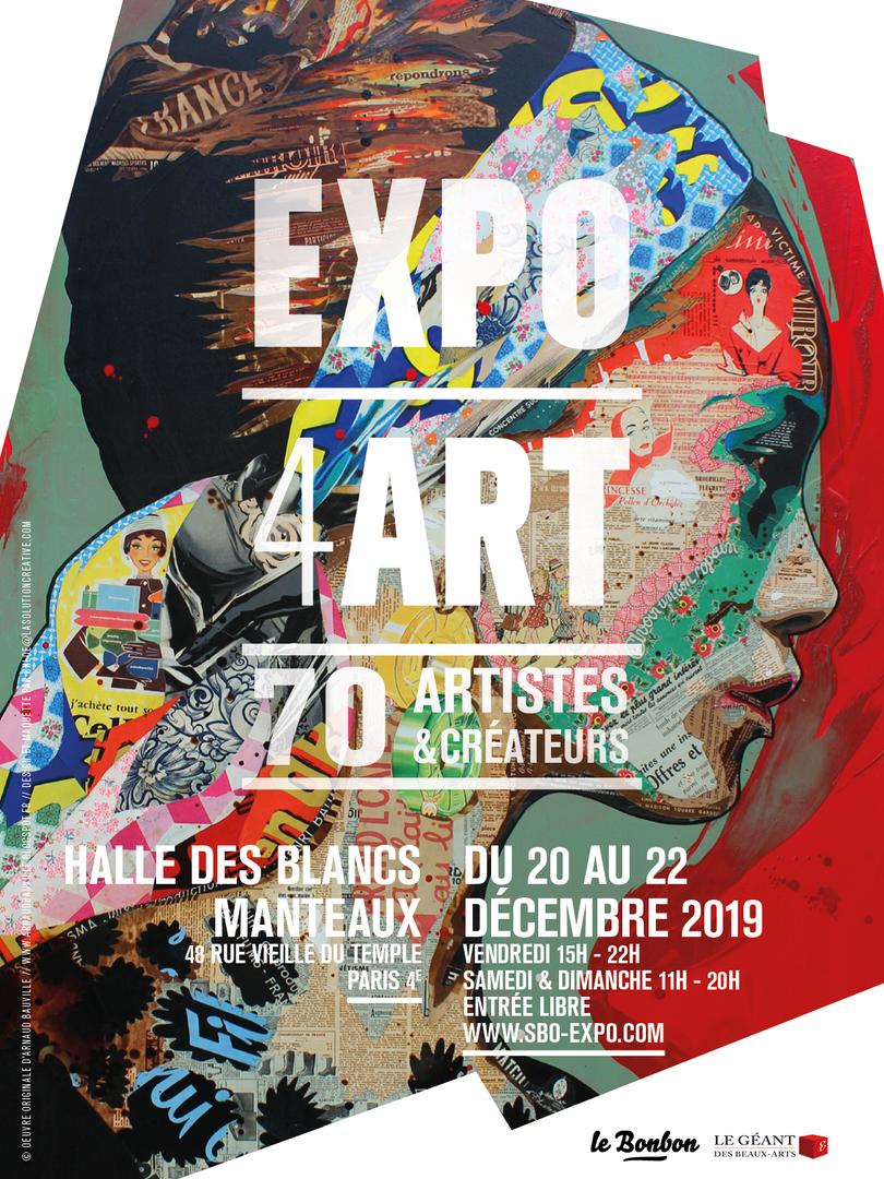 Affiche EXPO4ART 2019