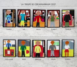 Portraits de la troupe Circapharnaüm