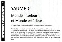 Cartel Yaume-c
