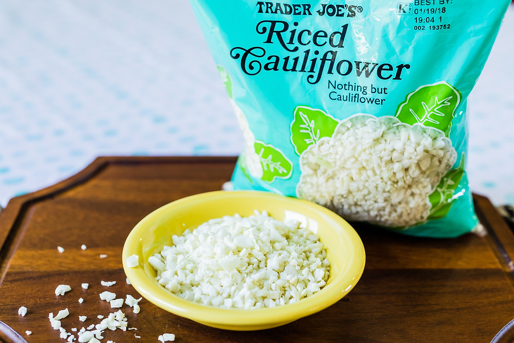 Riced Cauliflower, Whole30 hacks