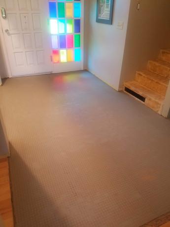Floor Prepared for Tile