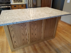 Custom Island Panels to Match Existing