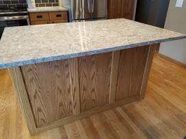 Custom Island Panels to Match Existing