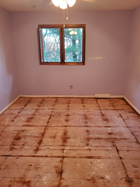 Prepared for Wood Floor Installation