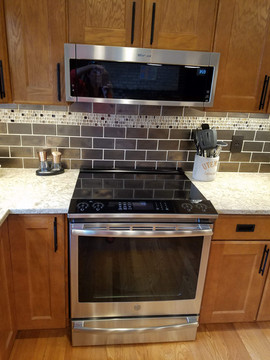Induction Stove & Low Profile Microwave