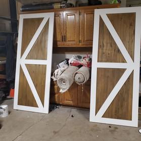 New Closet Barn Doors