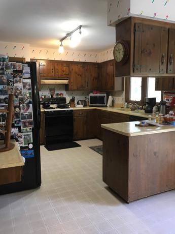 """Kaiser Kitchen """"Before"""""""