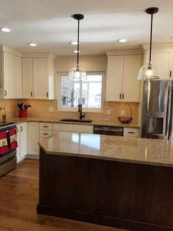 Painted White Shaker Cabinets