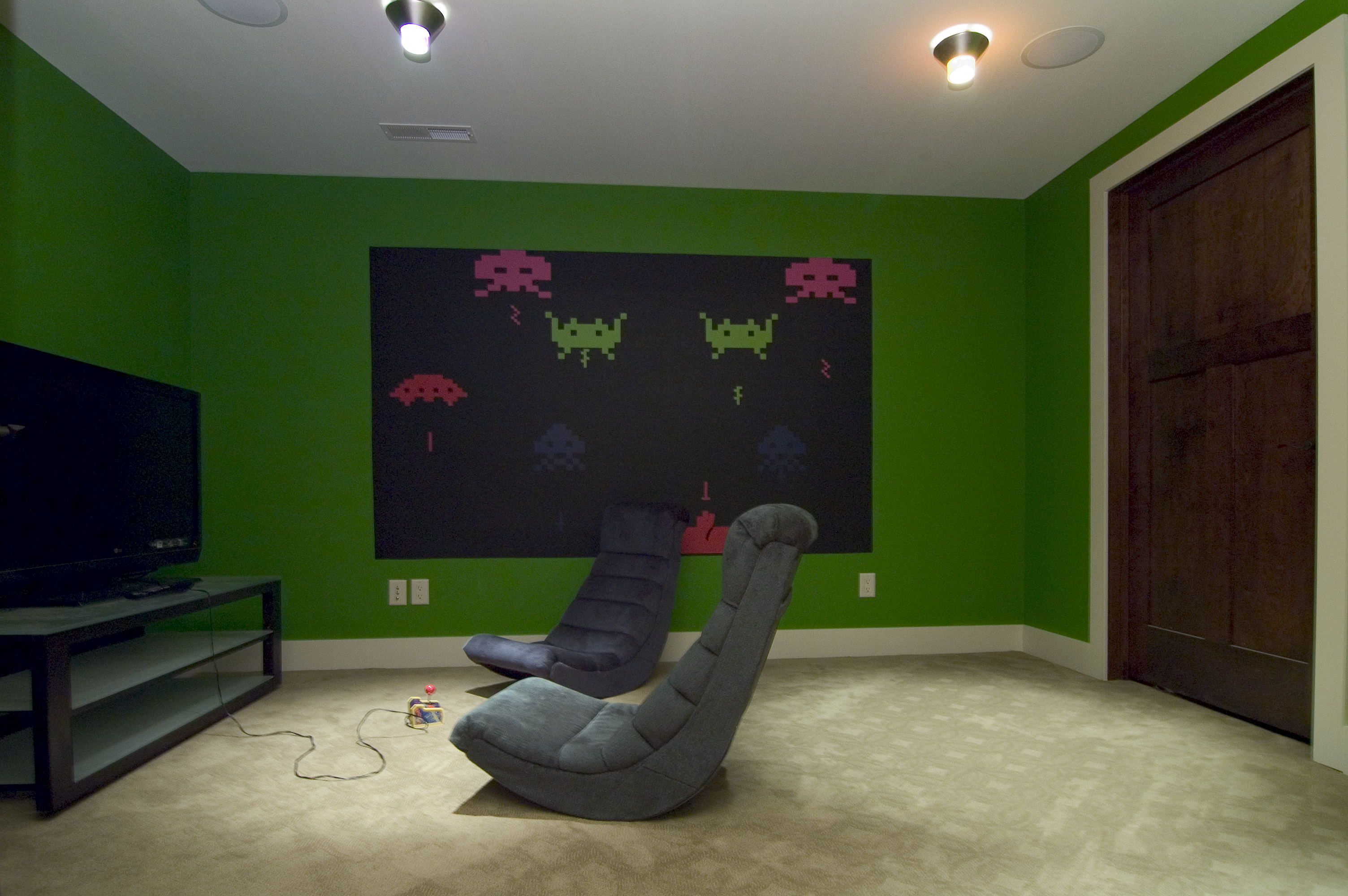 Video Game Room-Atari Wall Decals