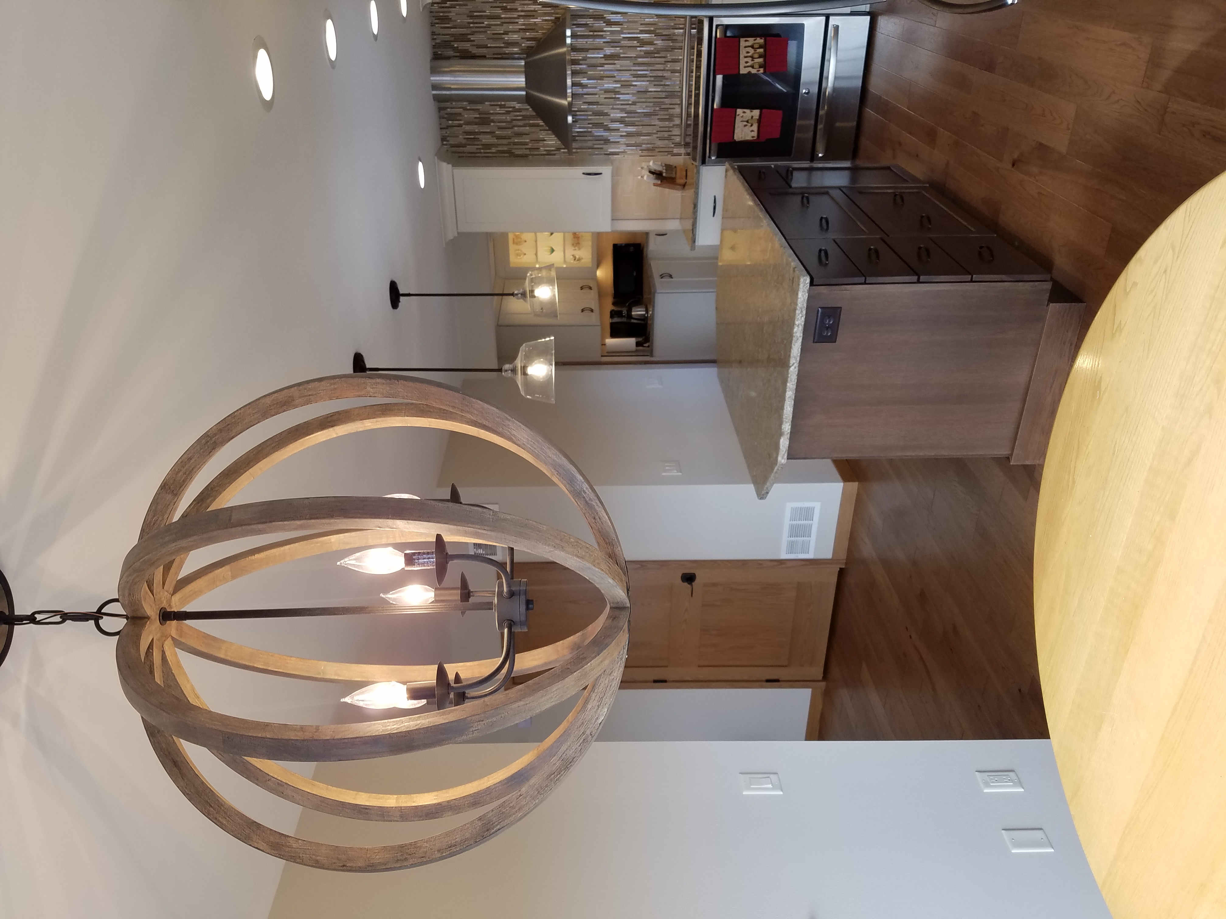 Large Spherical Dinette Fixture