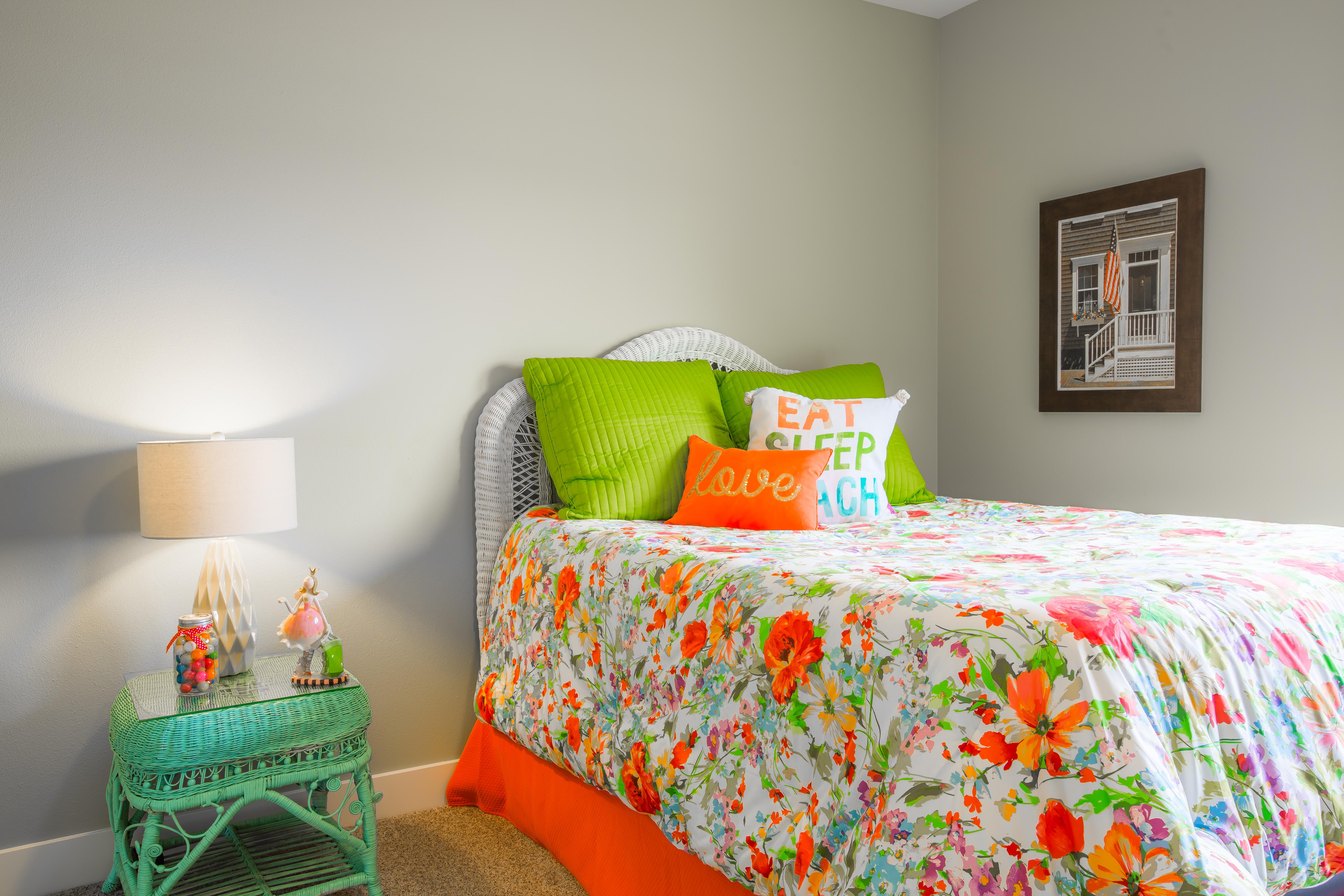 TK Designs-Staged Bedroom