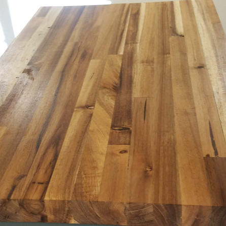 Hand Finished Butcher Block Top