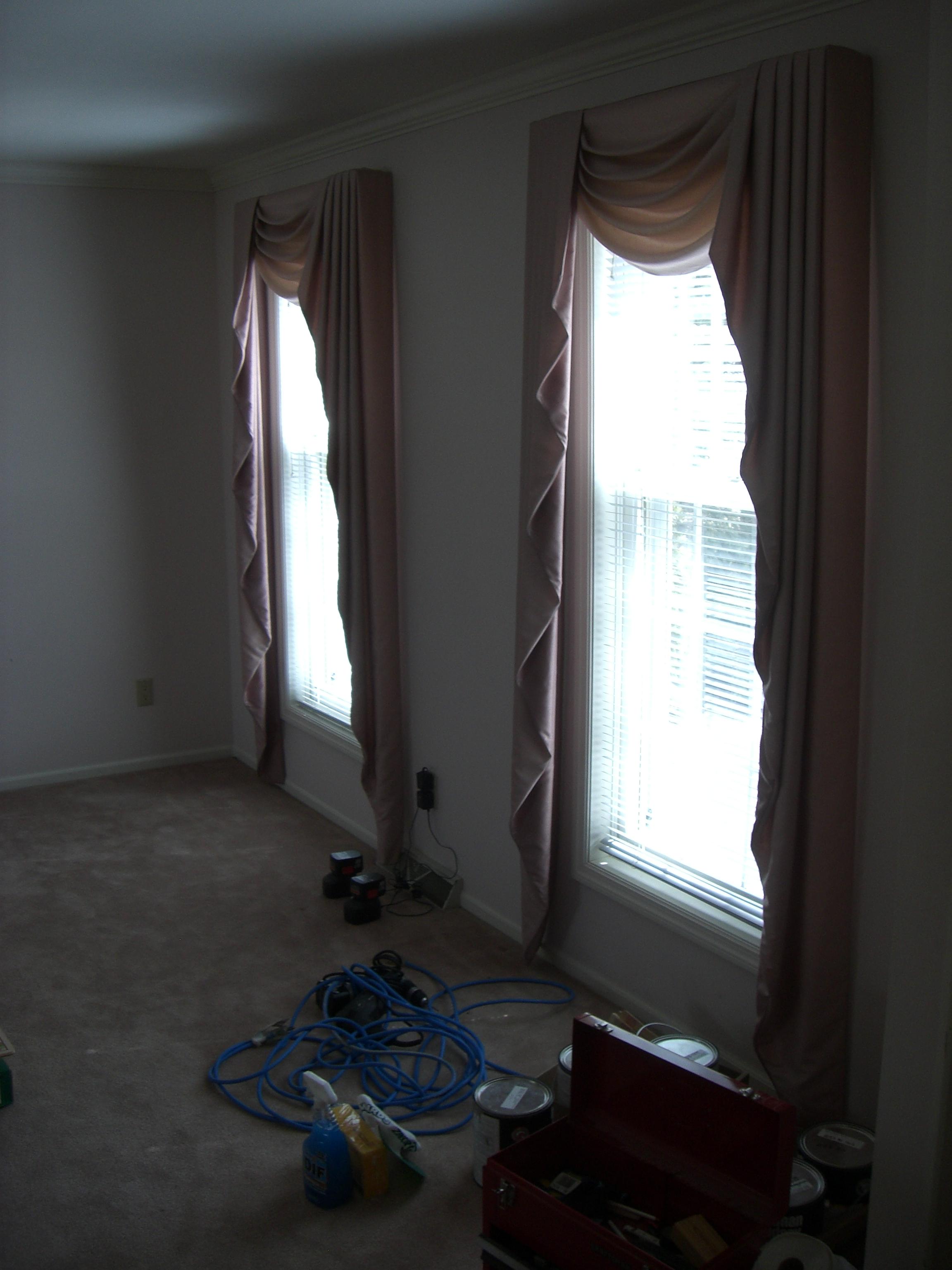 Sorry,mauve custom curtains must go