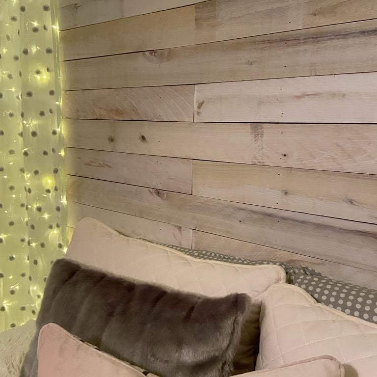 Weathered Accent Wall/Headboard