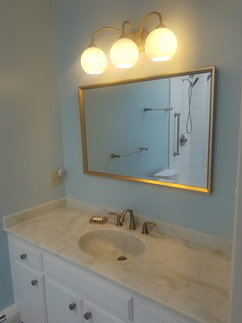 New Lighting, Mirror, Faucet & Hardware