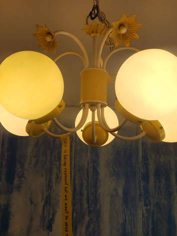 Dated Dinette Fixture