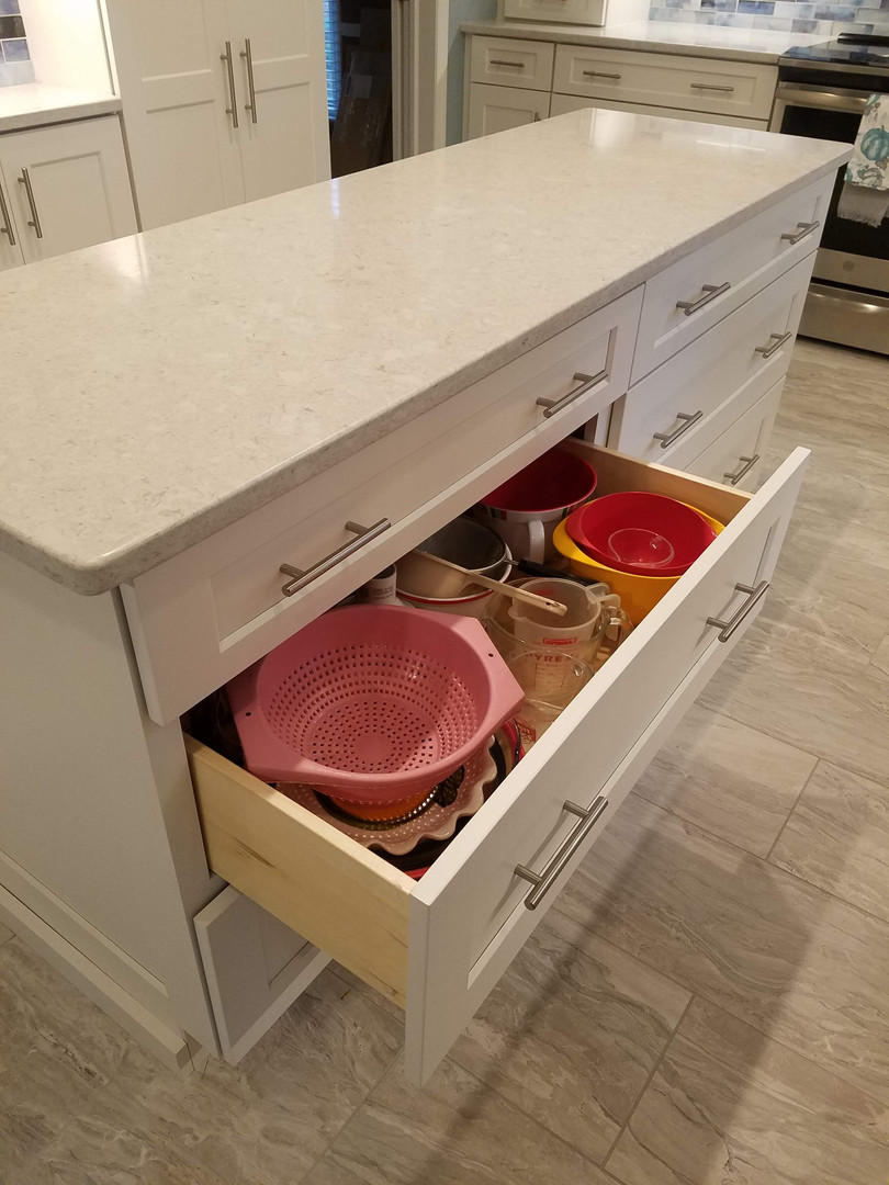 Large Pots/Pans Storage Drawers