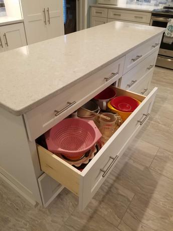 Large Pots/Pans Storage Drawers