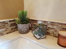 Glass Tile Splash