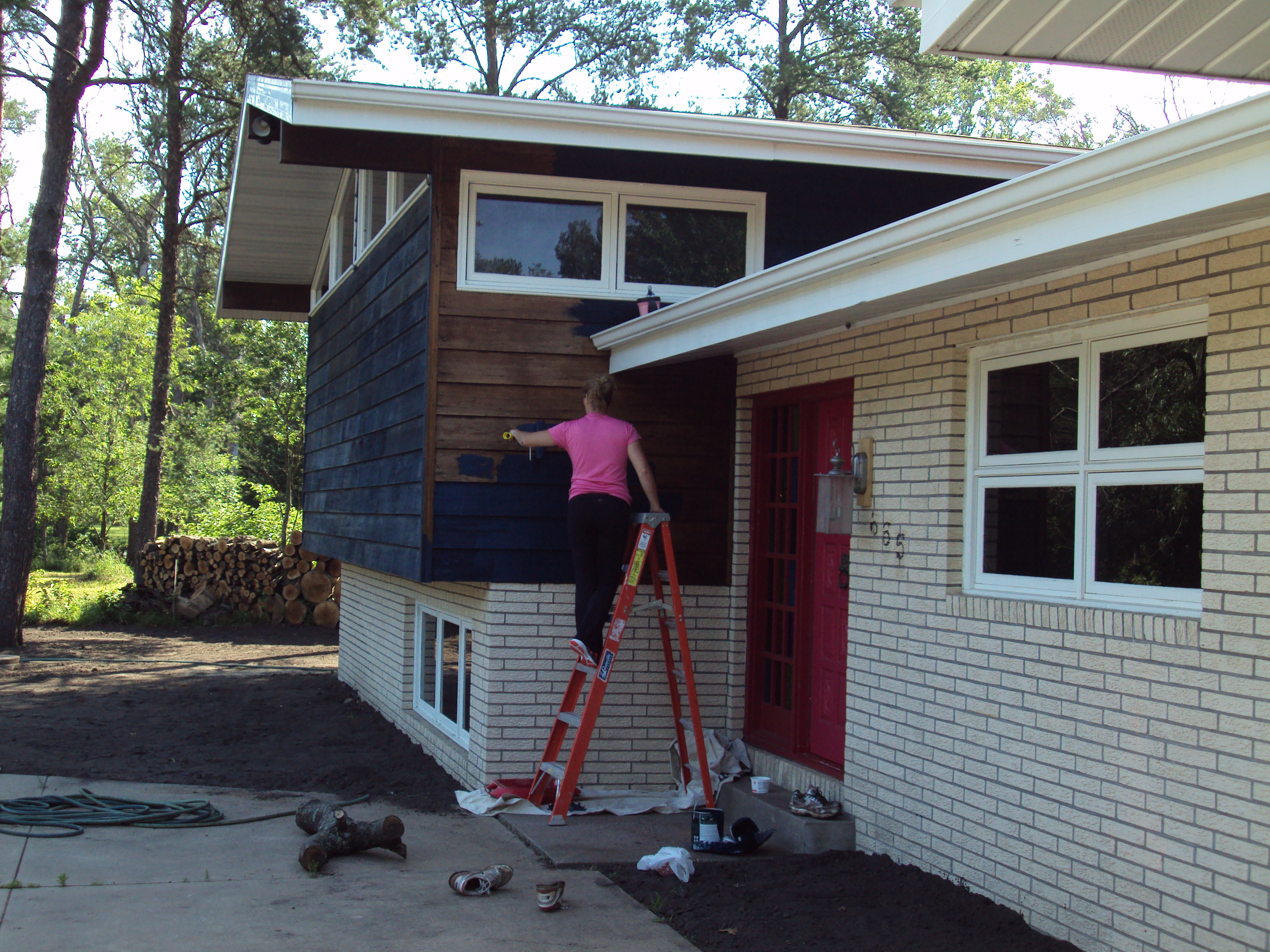 Painting the Exterior